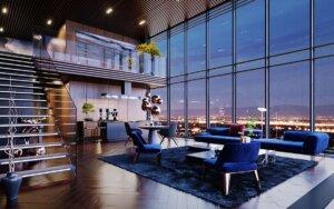 Căn hộ Penthouse mang đến cho bạn không gian sống tuyệt vời