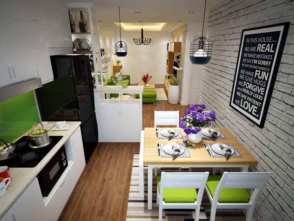 Căn hộ chung cư HH có giá bán khá rẻ phù hợp với gia đình có thu nhập thấp