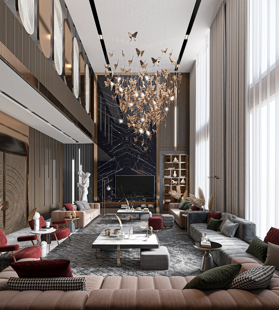 Thiết kế căn hộ Duplex ấn tượng