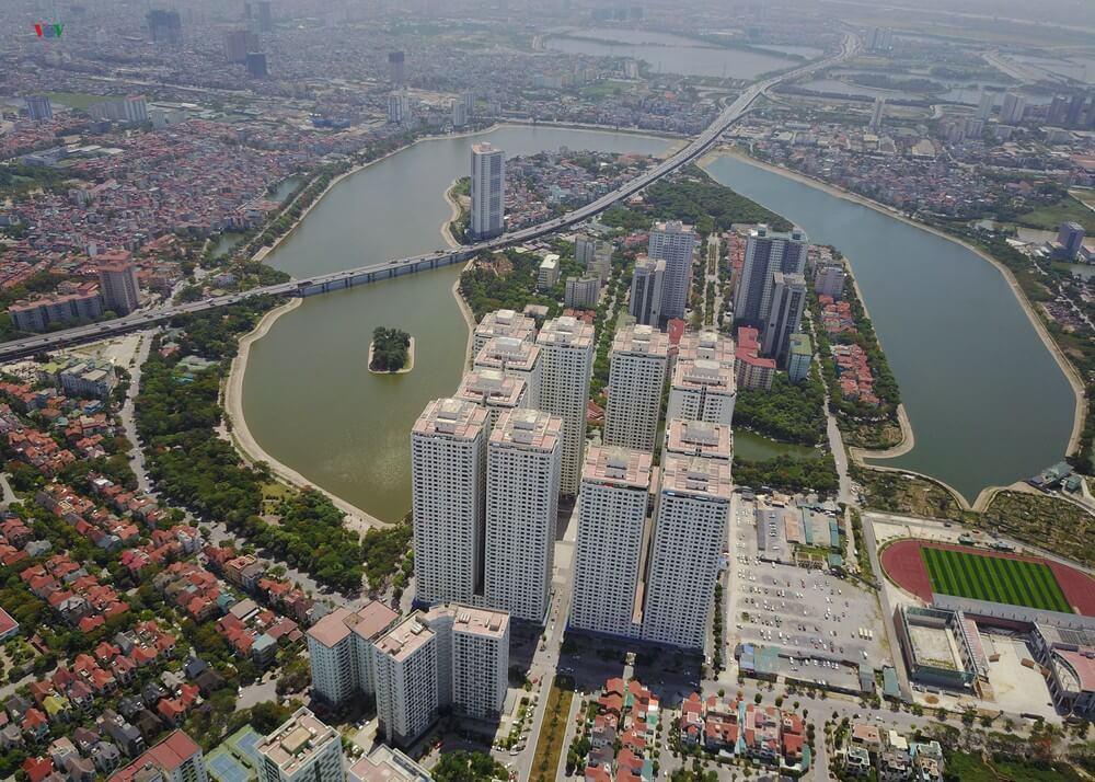 Tổ hợp chung cư HH Linh Đàm có vị trí vô cùng đắc địa