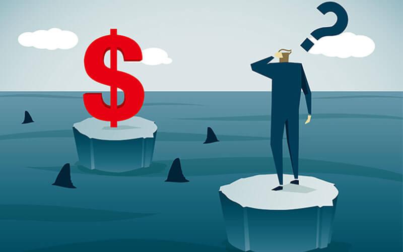 Không đầu tư quá số tiền vốn đang có để tránh gặp rủi ro