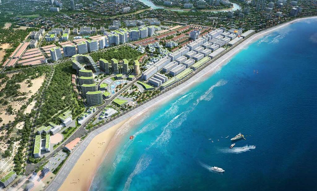 Sân bay Long Thành là điểm cộng cho bất động sản nghỉ dưỡng Phan Thiết