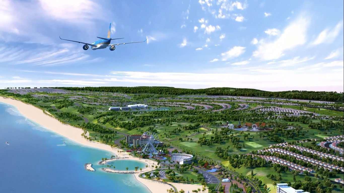 Sân bay quốc tế Long Thành là đòn bẩy cho bất động sản nghỉ dưỡng ở Phan Thiết