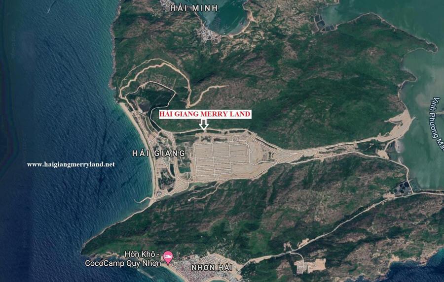 Vị Trí Hải Giang Merry Land -hungthinh.com.vn
