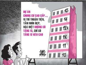 Có nên mua nhà chung cư tầng 13 hay không?