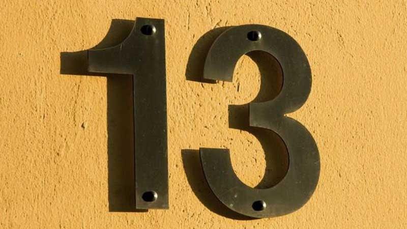 Tại sao con số 13 lại trở thành cấm kị tại các khu chung cư