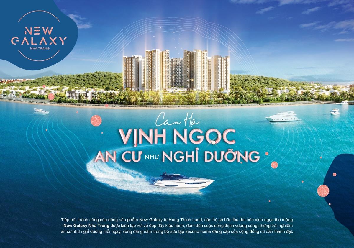 New Galaxy Nha Trang - Siêu bất động sản ven vịnh Nha Trang
